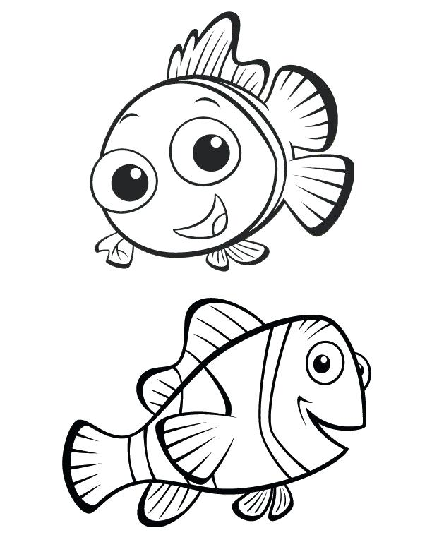 612x792 Nemo Coloring Page Index Coloring Pages Nemo Coloring Pages Pdf