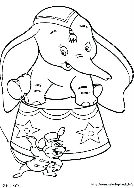 567x794 Dumbo Coloring Pages Dumbo Coloring Page Dumbo Coloring Picture