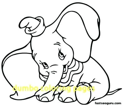 Baby Dumbo Coloring Pages at GetDrawings.com | Free for personal use ...
