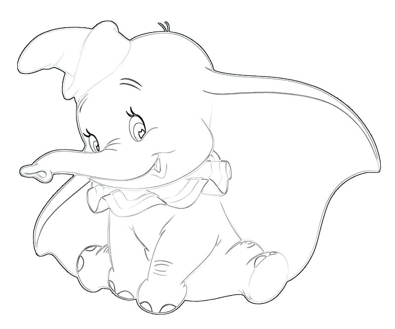 800x667 Dumbo Coloring Pages Mother And Baby Elephant Coloring Pages Dumbo