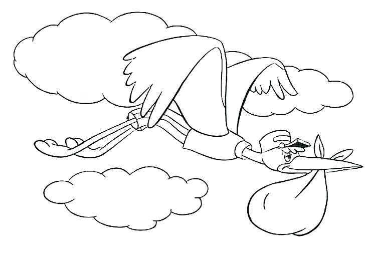 736x525 Dumbo Coloring Pages Page Baby Train Pag