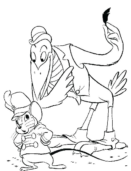 557x730 Dumbo Colouring Book Dumbo Coloring Pages Baby Dumbo Coloring