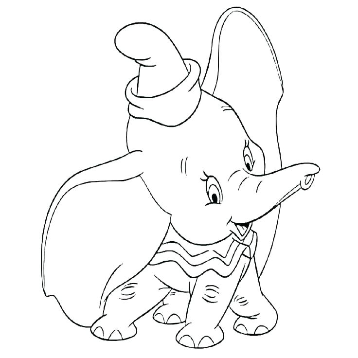 736x736 Coloring Picture Dumbo Coloring Picture Dumbo Coloring Pages Free