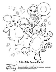 236x305 Baby Einstein Coloring Book All Pages Baby Einstein