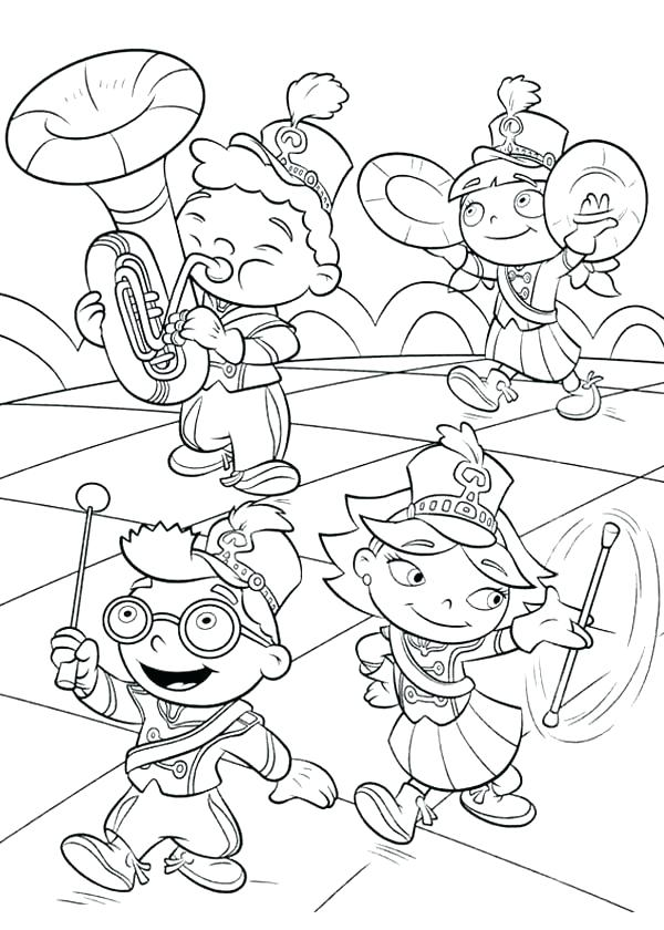 600x840 Little Einstein Coloring Pages Little Coloring Pages Little