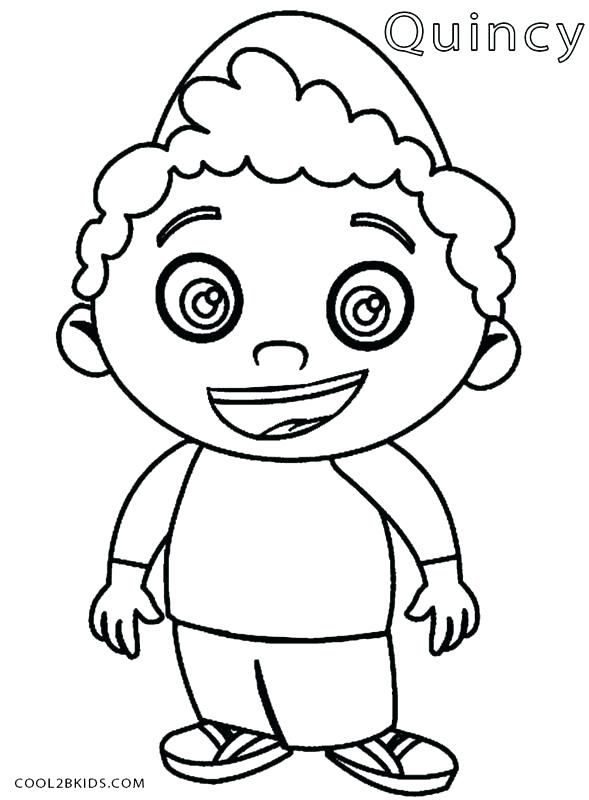 589x800 Baby Einstein Coloring Pages