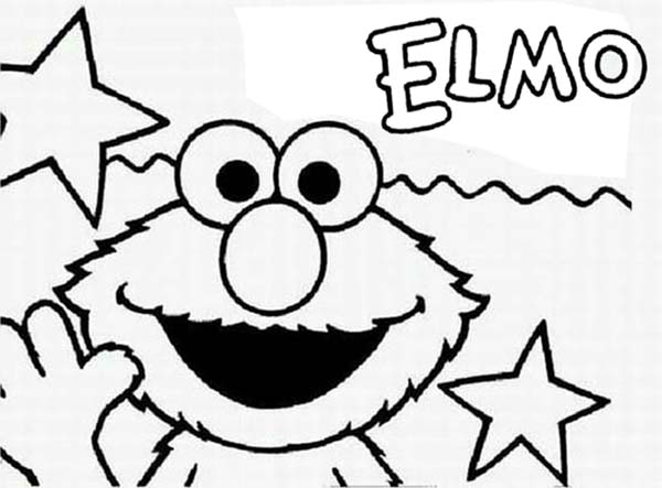 Baby Elmo Coloring Pages At Getdrawings Com Free For Personal Use