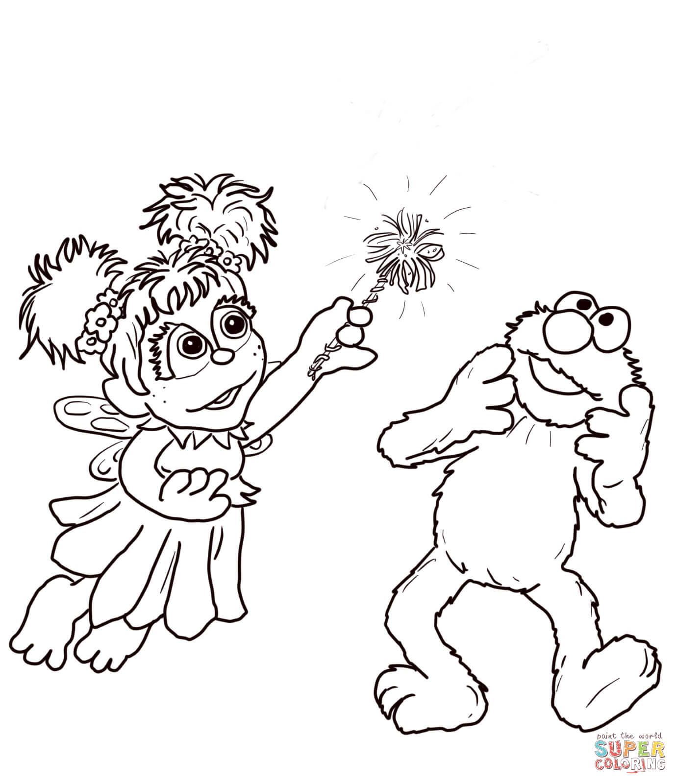 Baby Elmo Coloring Pages At Getdrawings Free Download