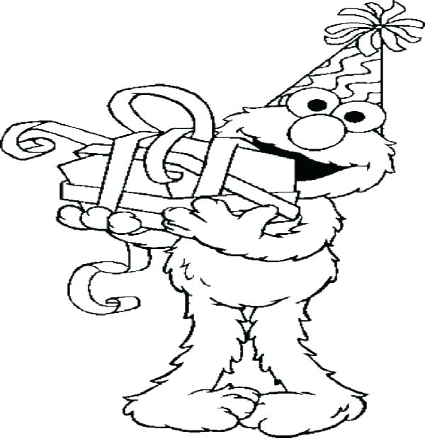 Baby Elmo Coloring Pages At Getdrawings Com Free For