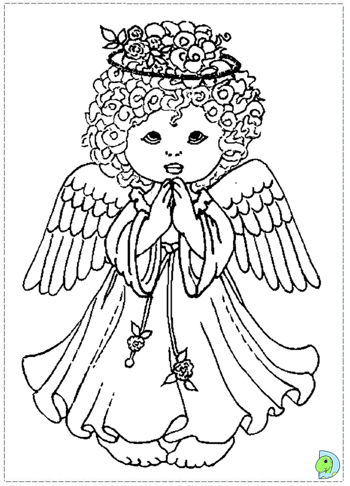 Baby Feet Coloring Pages