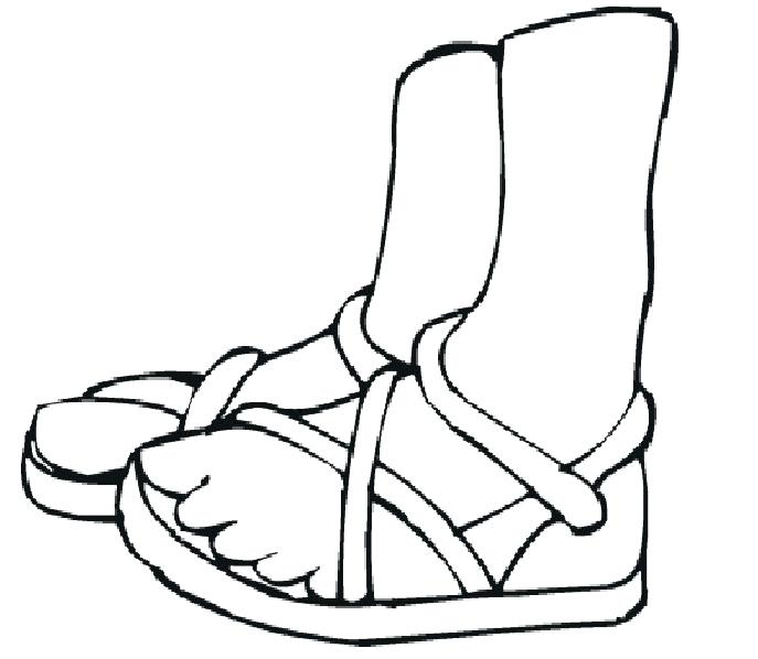 687x598 Feet Coloring Pages Coloring Book Foot Feet Coloring Pages Feet