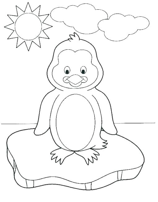 510x651 Happy Feet Coloring Pages Baby Feet Coloring Pages Happy Feet