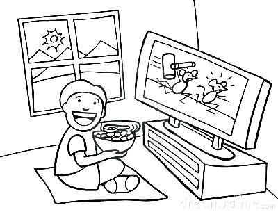 400x305 Tv Coloring Pages Printable Coloring Pages For Kids Jessie Tv Show