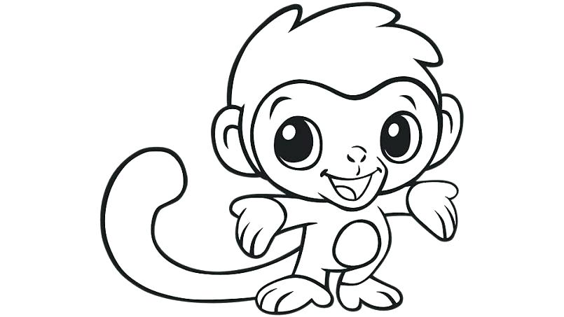 805x453 Baby Coloring Pages