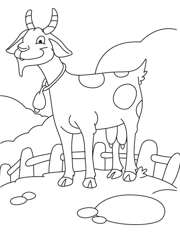 612x792 Baby Goat Coloring Pages Cute Baby Coloring Pages Baby Coloring
