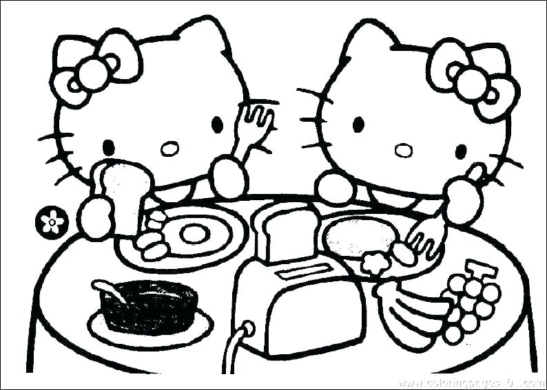 794x567 Baby Kitty Coloring Pages Cat Printable Coloring Pages Cat