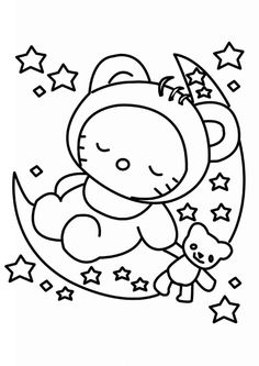 236x333 Free Printable Hello Kitty Coloring Pages For Kids Hello Kitty