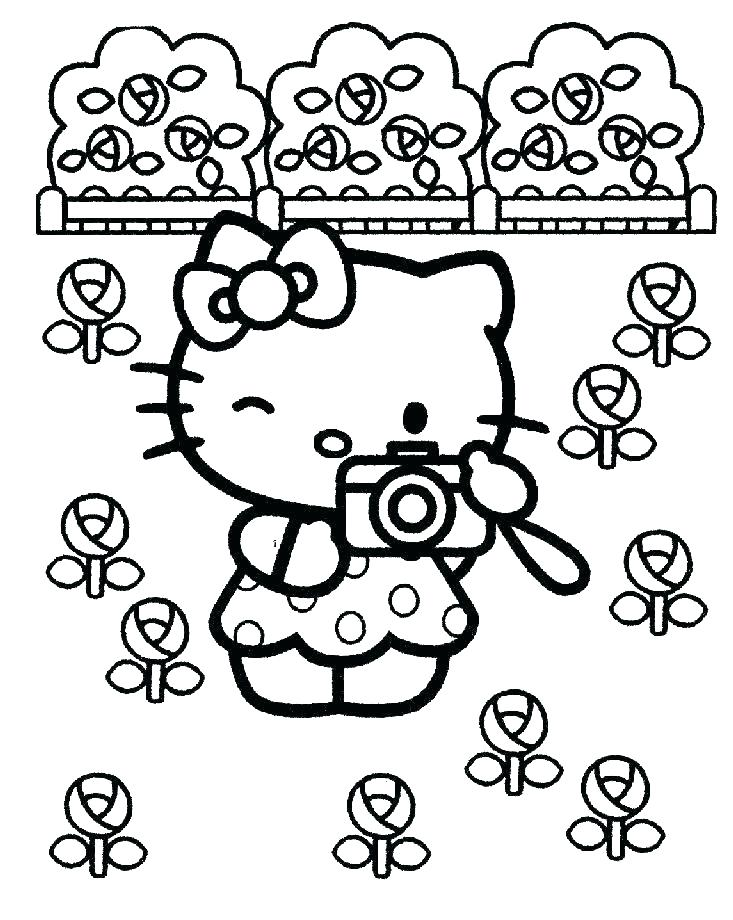 733x920 Hello Kitty Images Coloring Pages Baby Hello Kitty Coloring Pages