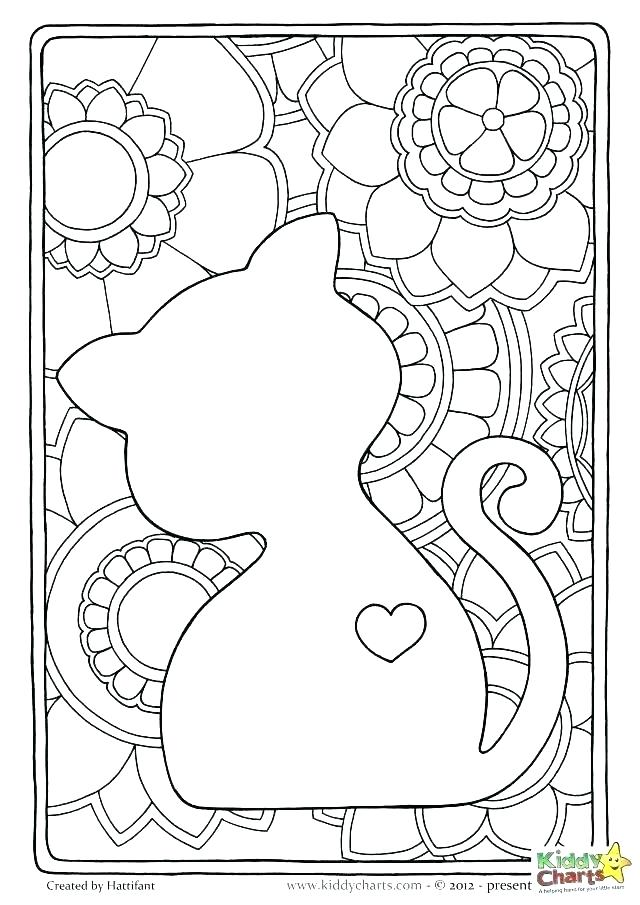 640x905 Printable Cat Coloring Pages For Adults Printable Coloring Pages