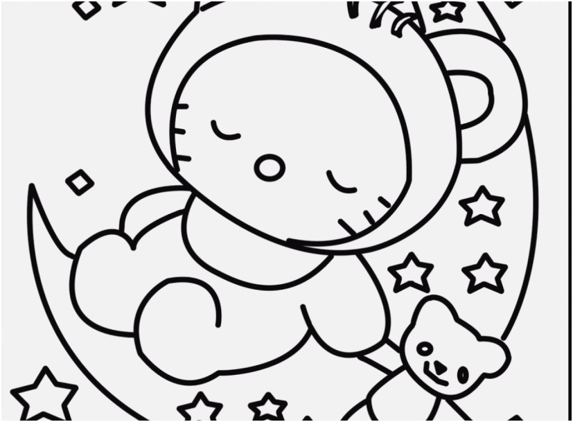 827x609 The Ideal Picture Kitty Coloring Pages Excellent