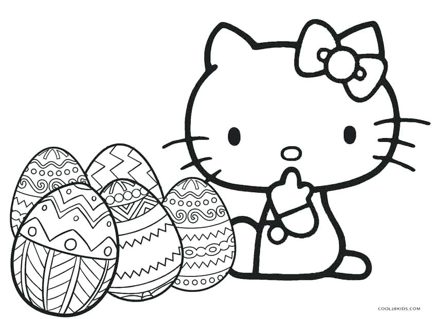 850x622 Baby Hello Kitty Coloring Pages Birthday Cute Cat