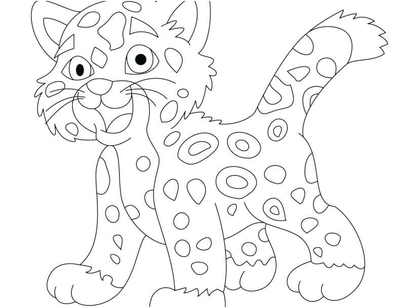 827x609 Baby Jaguar Coloring Pages Jaguar Coloring Pages Jaguar Coloring
