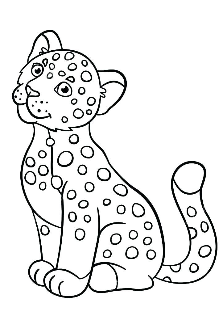 723x1023 Jaguar Coloring Page Baby Jaguar Coloring Pages Jaguar Animal