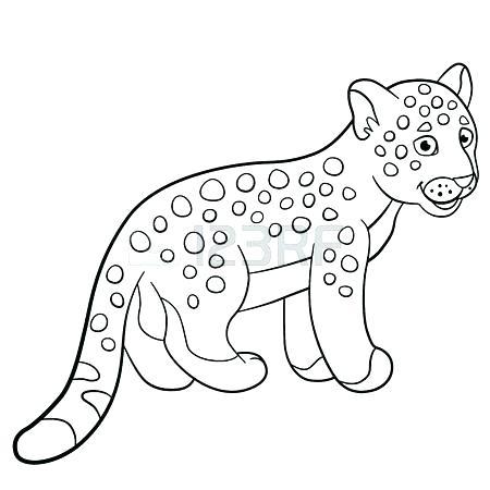 450x450 Jaguar Coloring Pages Female Jaguar Coloring Pages Bulk Color