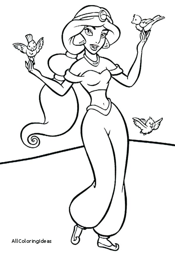 600x875 Coloring Pages Jasmine Jasmine Coloring Page Jasmine Coloring