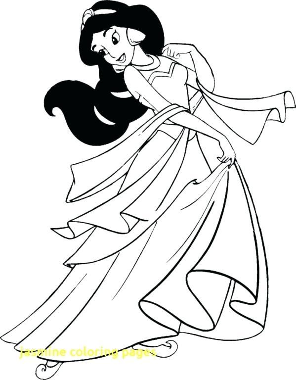 599x768 Jasmine Coloring Pages Jasmine Coloring Pages With Jasmine