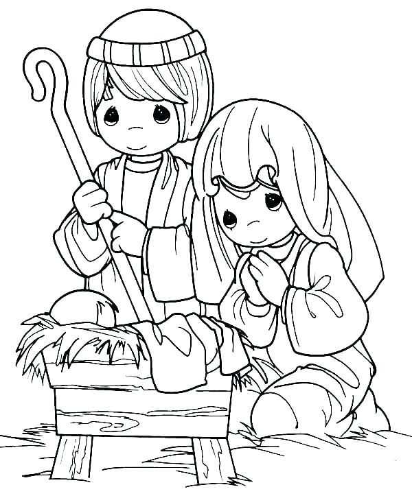 600x726 Baby Jesus Coloring Pages And Baby Coloring Page Here Are Baby