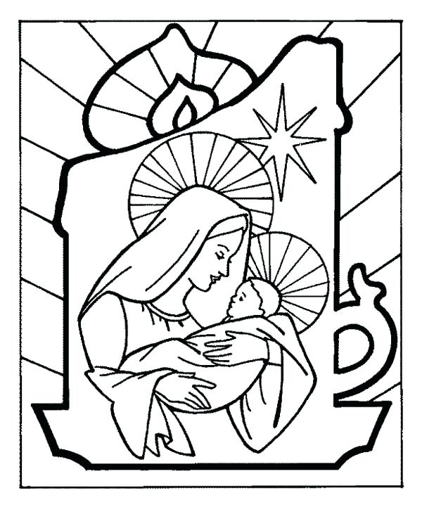 600x721 Baby Jesus Coloring Pages Click To See Printable Version Of Baby