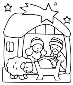 236x275 Lots Of Great Christian Christmas Printable Coloring Pages