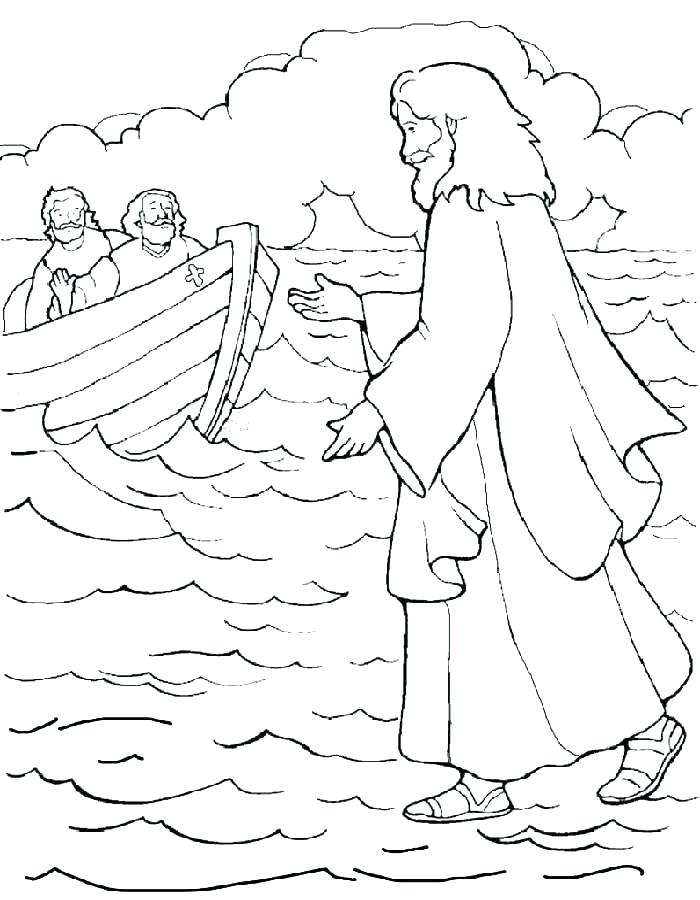 700x900 Baby Jesus Coloring Page
