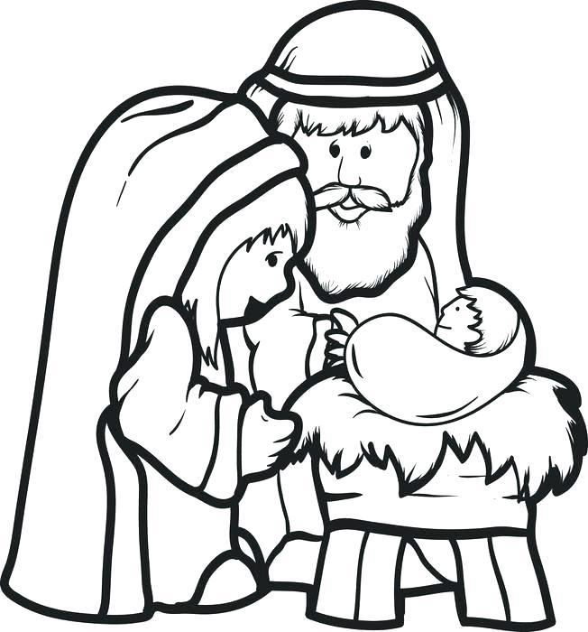 652x700 Jesus Coloring Pages For Preschoolers Deepart