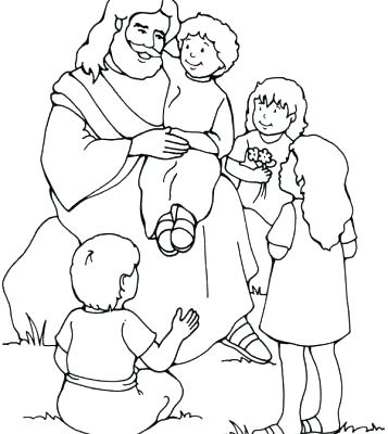 357x400 Baby Jesus Coloring Pictures Free Page Color Pages For Toddler