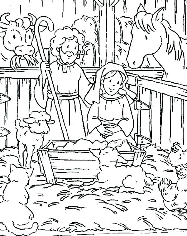 600x757 Baby Jesus Coloring Pages Baby Coloring Pages Baby Jesus Coloring