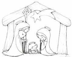 236x188 Baby Jesus In A Mangercoloring Page Printables