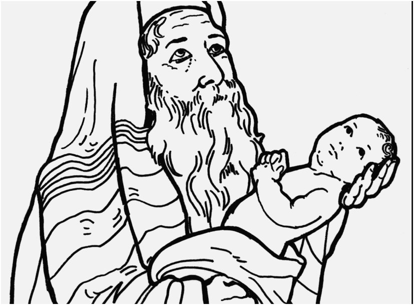 827x609 The Perfect Photo Baby Jesus Coloring Pages The Best