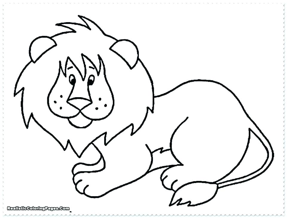959x729 Baby Jungle Animals Coloring Pages Safari Animal Coloring Pages