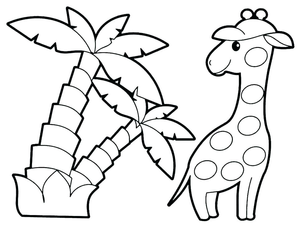 970x739 Jungle Animal Coloring Pages Jungle Animals Coloring Pages Kids