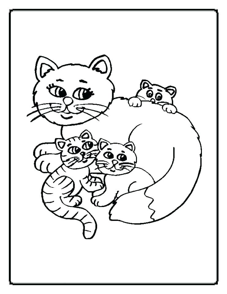 741x960 Cute Kitten Coloring Pages Kitten Color Pages Kitten Color Pages