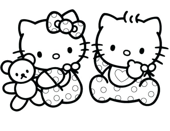 Baby Kitten Coloring Pages at GetDrawings.com   Free for personal ...