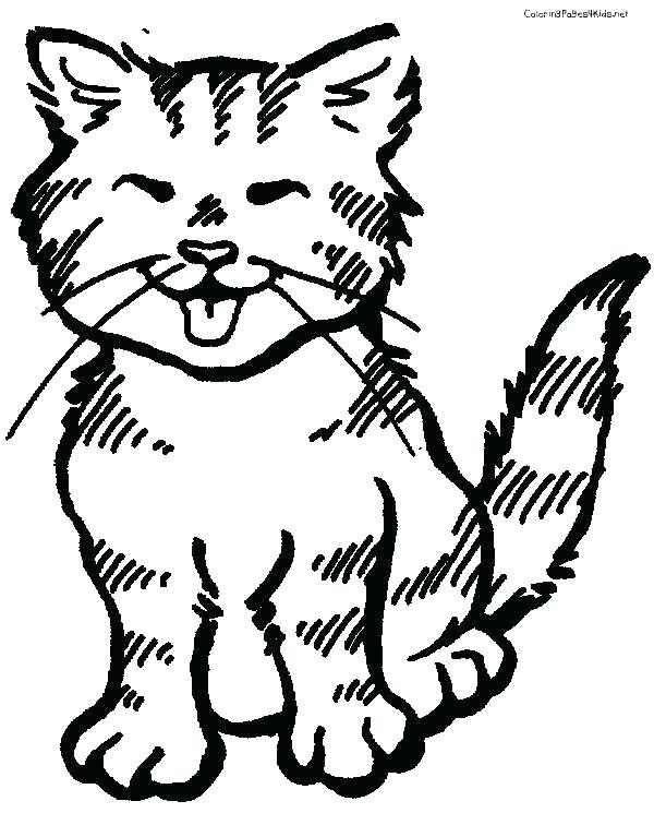 600x756 Free Kitten Coloring Pages Baby Kitten Coloring Sheets Kitten