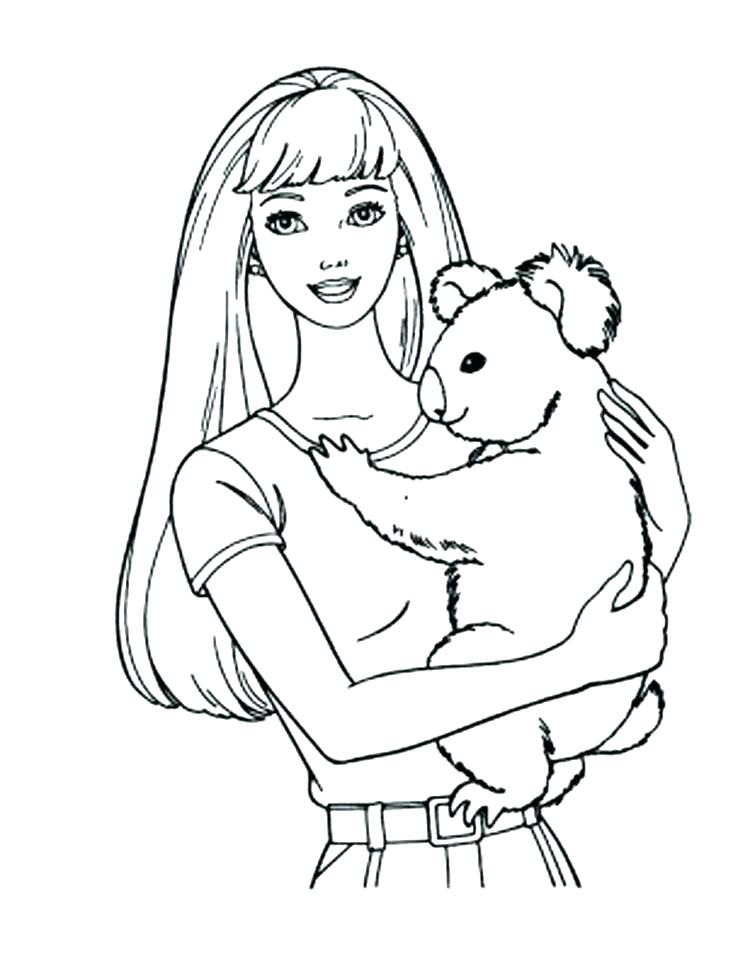 750x971 Koala Coloring Pages Coloring Pages Of Koalas Koala Coloring Page