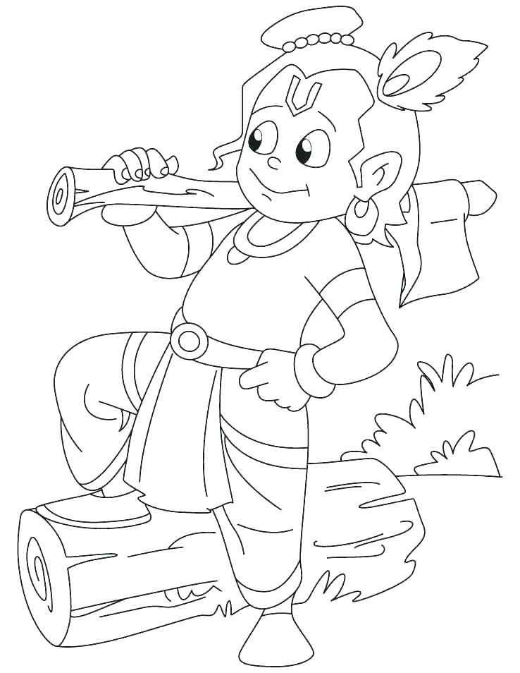 738x954 Krishna Colouring Pages For Kids Coloring Coloring Pages Disney
