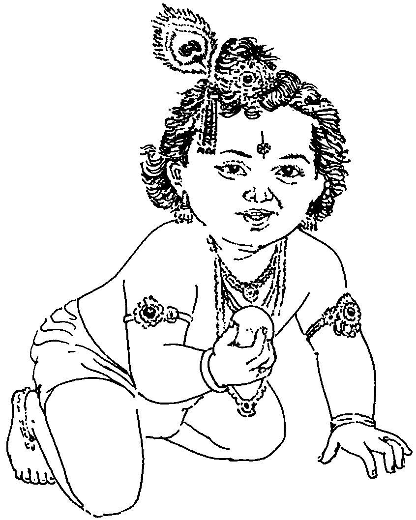 846x1058 Coloring Pages Of Krishna