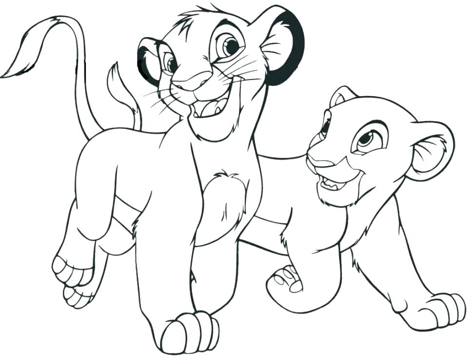 970x733 Lion King Printable Coloring Pages Baby Lion Coloring Pages Lion