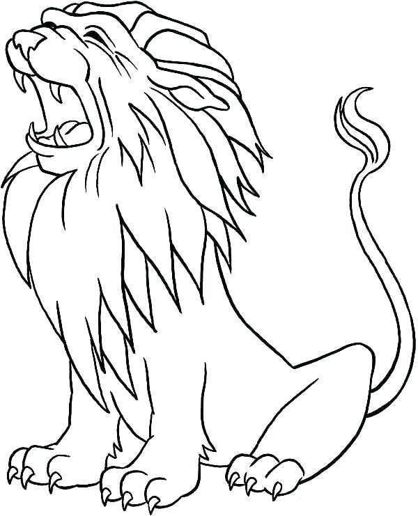 600x741 Baby Lion Coloring Pages Cool Coloring Pages Image Baby Lion Free