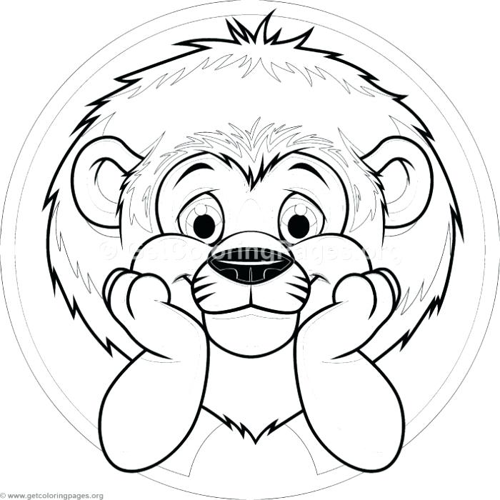 700x700 Baby Lion Coloring Pages Cute Baby Lion Coloring Pages Baby Lion